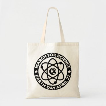 girlygirlgraphics Earth Day March for Science Tote Bag