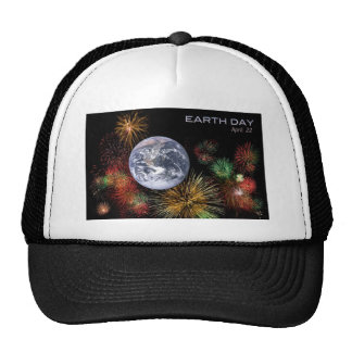 Earth Day Mesh Hats