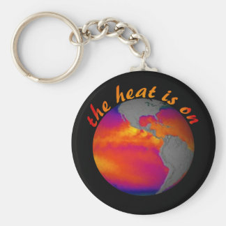 Earth Day Message Key Chains