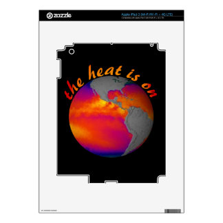 Earth Day Message iPad 3 Decals