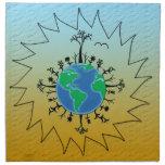 Earth Day Napkin
