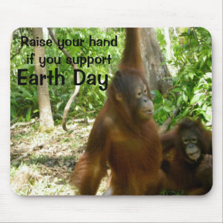 Earth Day Nature Mouse Pad