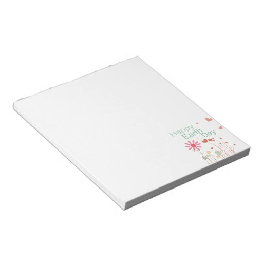 Earth Day Notepad
