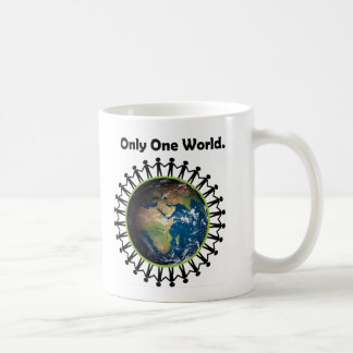 Earth Day Only One World Planet Earth Photo Classic White Coffee Mug