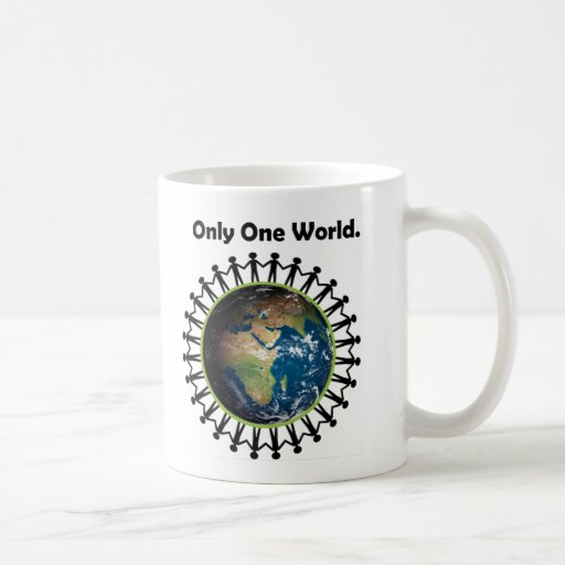 Earth Day Only One World Planet Earth Photo Coffee Mug