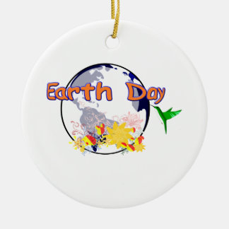 Earth Day Christmas Ornaments