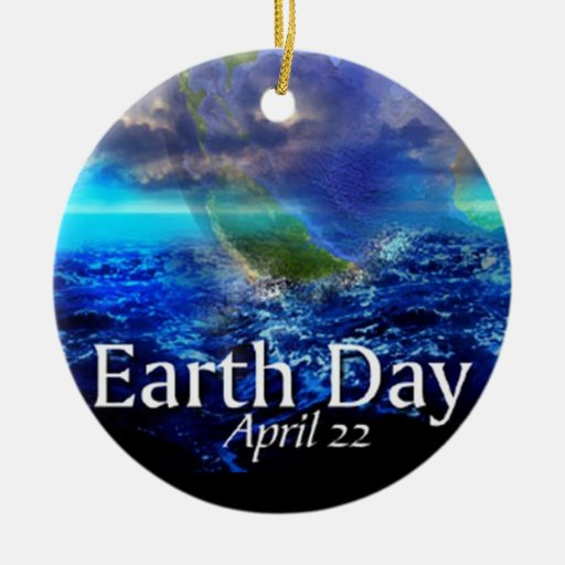 Earth Day Ornament
