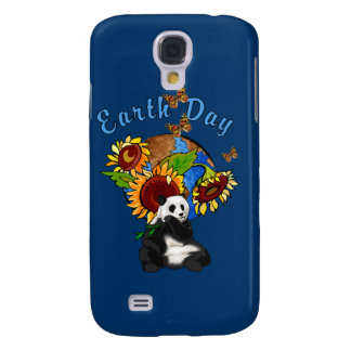 Earth Day Panda Planet Galaxy S4 Cover