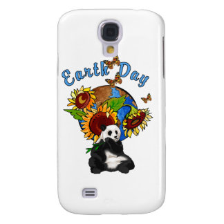 Earth Day Panda Planet Samsung Galaxy S4 Covers