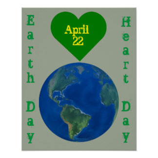 Earth Day Picture Poster
