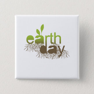 EARTH DAY - PINBACK BUTTON
