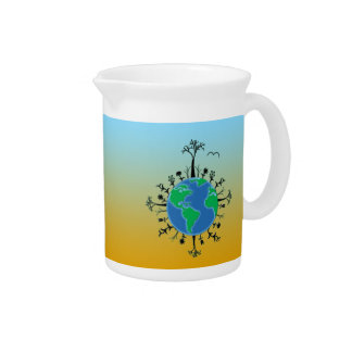 Earth Day Pitcher