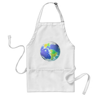 EARTH DAY PLANET ART APRIL 22 ADULT APRON