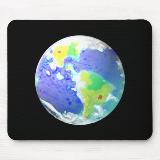 EARTH DAY PLANET ART APRIL 22 MOUSE PADS