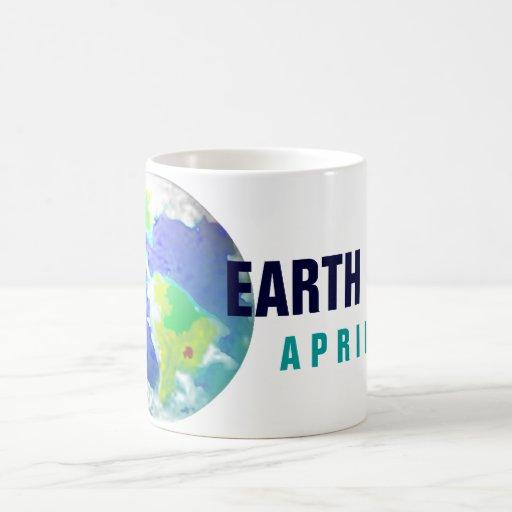 EARTH DAY PLANET ART APRIL 22 COFFEE MUGS