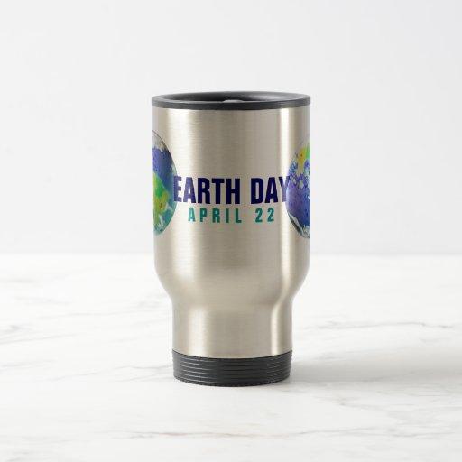 EARTH DAY PLANET ART APRIL 22 MUGS