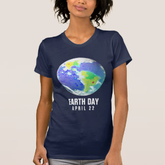 EARTH DAY PLANET ART APRIL 22 T-Shirt