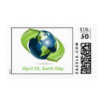 Earth Day Postage