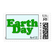 Earth Day Postage Stamp