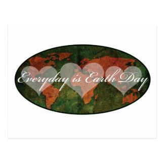 Earth Day Postcard