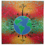 Earth Day Printed Napkins