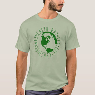 Earth Day, Recycle, Reduce, Reuse Design T-Shirt