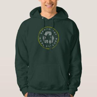 Earth Day Recycle Team Hooded Sweatshirt