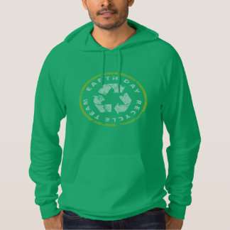 Earth Day Recycle Team Hoodie