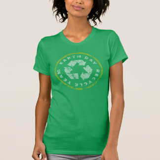 Earth Day Recycle Team Tshirt
