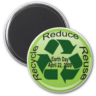 EARTH DAY REFRIGERATOR MAGNET
