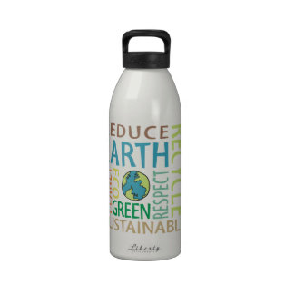 Earth Day Reusable Water Bottles