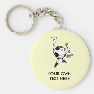 EARTH DAY - Save Energy Key Chain