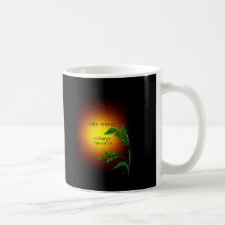 Earth day / Solar Energy Classic White Coffee Mug
