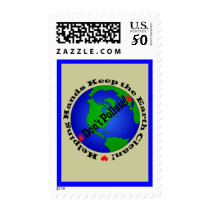 Earth Day Stamp