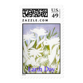 Earth Day Stamp2 Postage Stamps