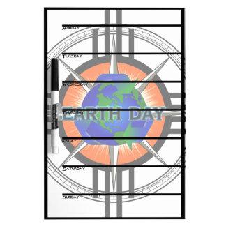 Earth Day Star Crown Dry-Erase Board