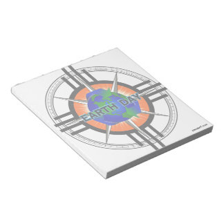 Earth Day Star Crown Scratch Pad