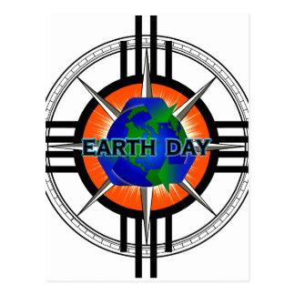 Earth Day Star Crown Postcard