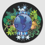 Earth Day Stickers | Earth Day Sticker