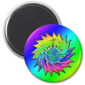 Earth Day ~ Sunburst Magnet