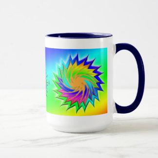 Earth Day ~ Sunburst Mug