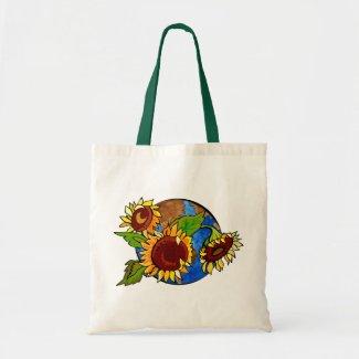 Earth Day Sunflower Bag bag