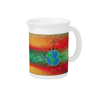 Earth Day ~ Sunrise Beverage Pitcher