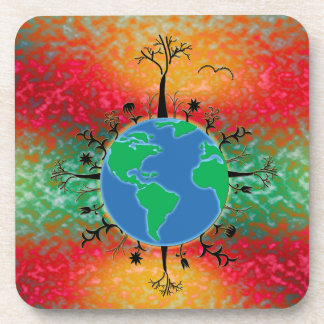 Earth Day ~ Sunrise Drink Coaster