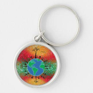 Earth Day ~ Sunrise Keychain