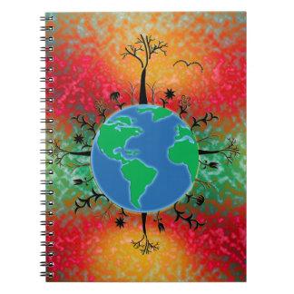 Earth Day ~ Sunrise Notebook