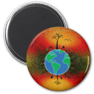 Earth Day ~ Sunset Magnet