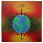 Earth Day ~ Sunset Napkins