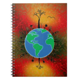 Earth Day ~ Sunset Notebook