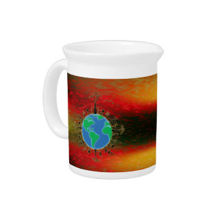 Earth Day ~ Sunset Pitchers